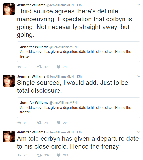 Corbyn to resign?