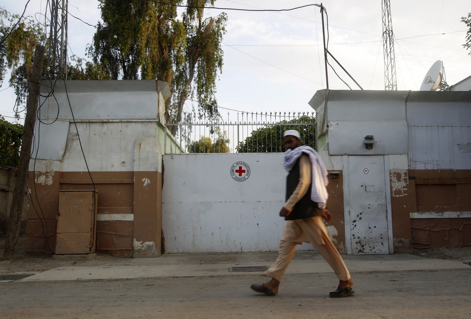 International Committee of the Red Cross (ICRC) office in Jalalabad