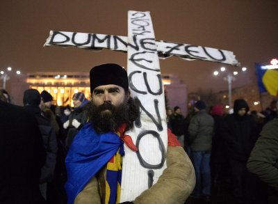 Romania protests