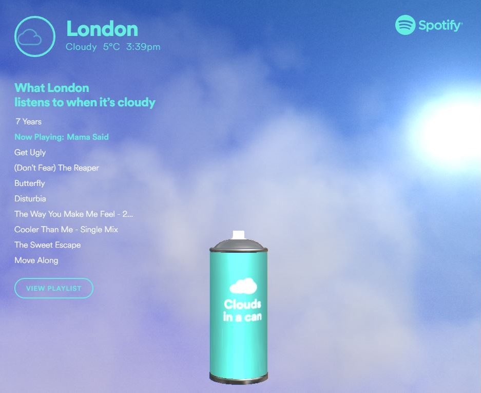 Spotify launches Climatune