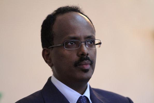 Acting President Yemi Osinbajo, SAN, congratulates Mohammed Abdullahi Farmajo on his election as President of the Federal Republic of Somalia.
