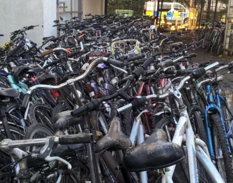 Oxford bike haul