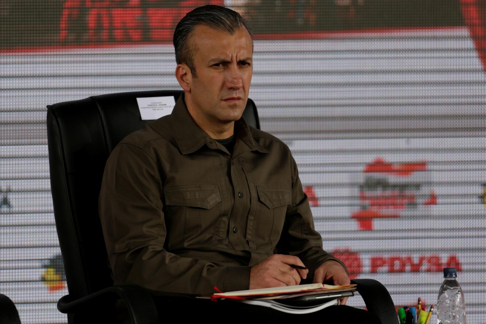 Venezuela's Vice President Tareck El Aissami