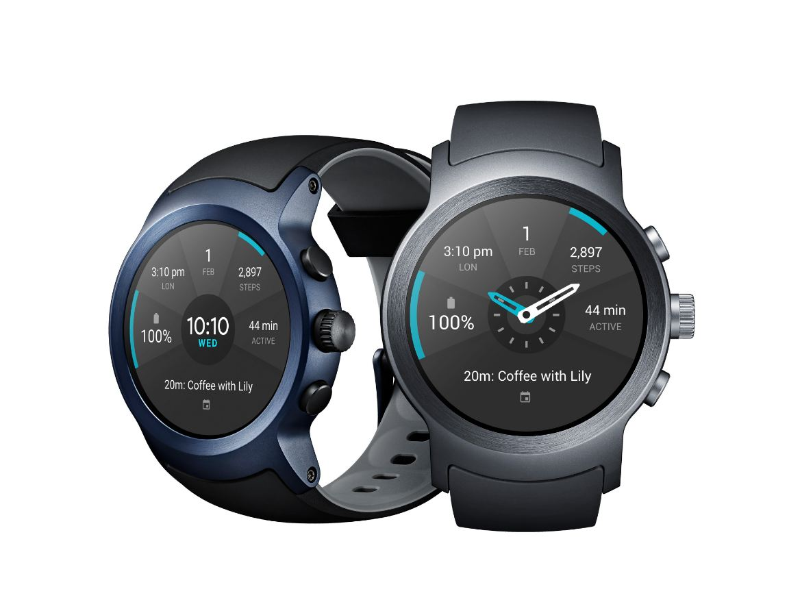 LG Watch Sport and Watch Style unveiled