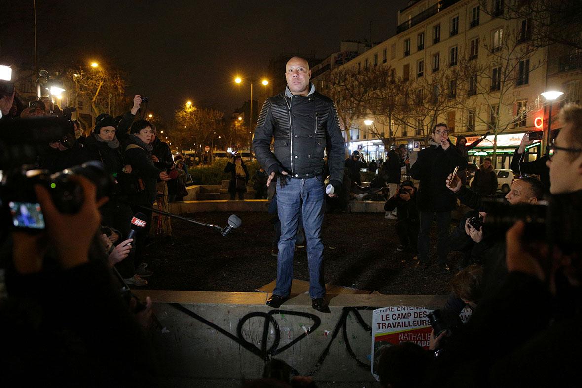 France police assault