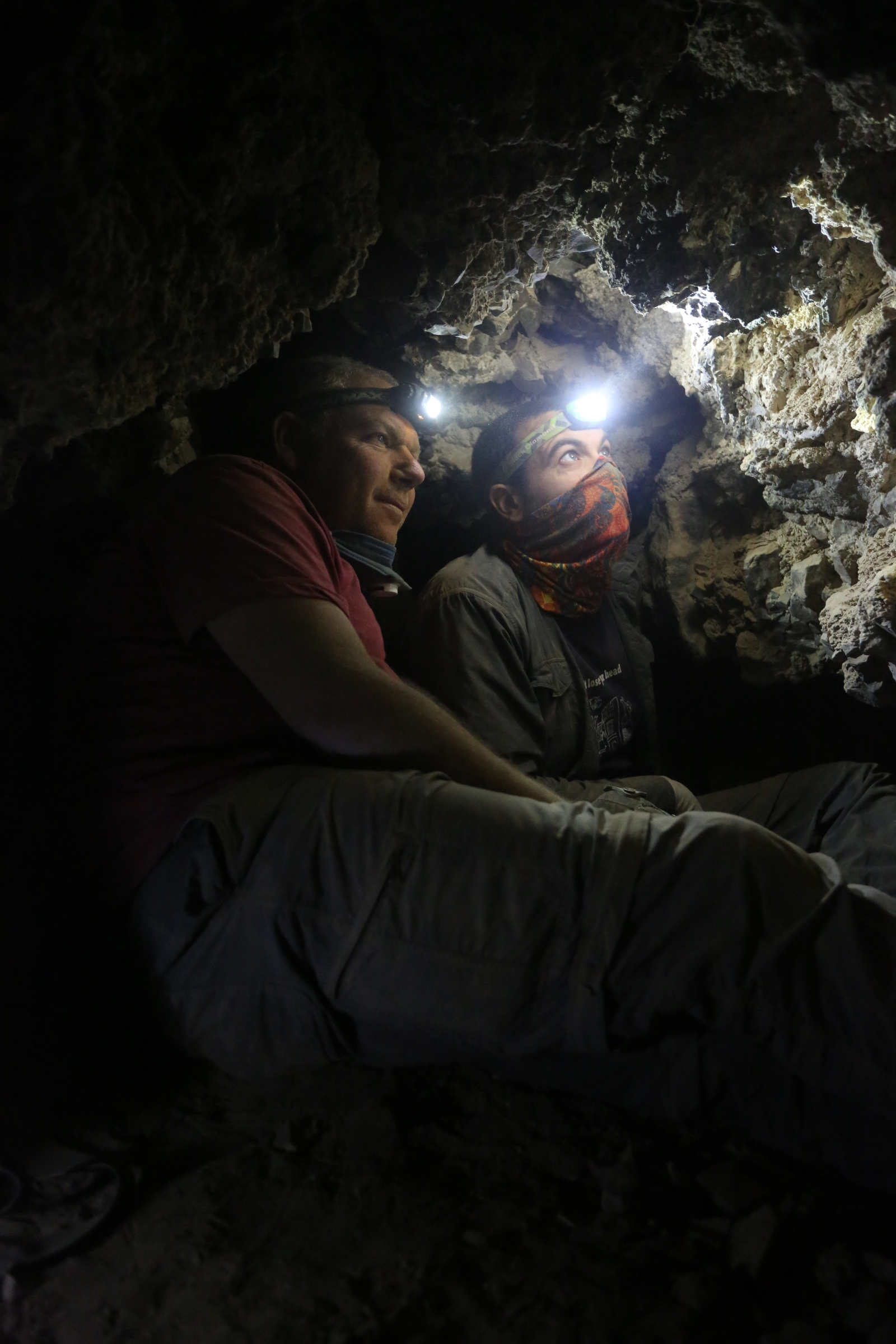 Dead Sea Scroll cave
