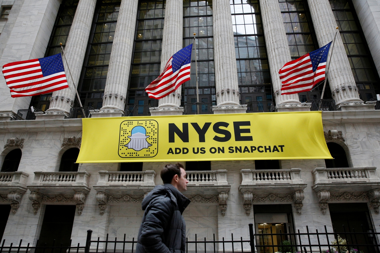 Snapchat IPO: Snap, crackle and pop as shares surge by over 40% in Wall Street debut