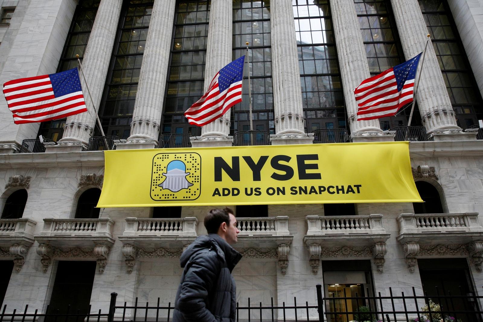 NYSE on Snapchat