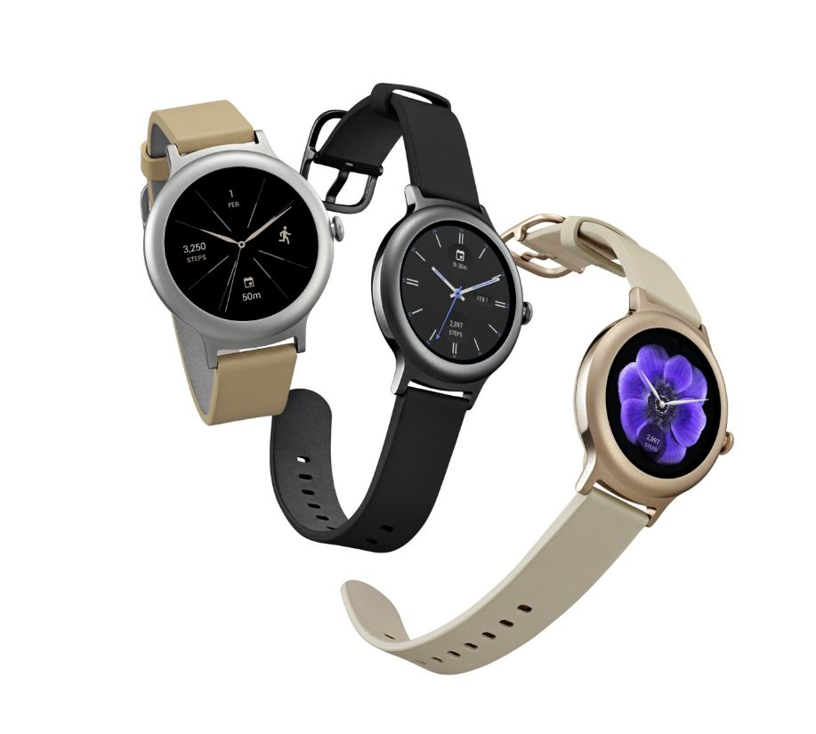 LG's new Android Wear 2.0 smartwatches