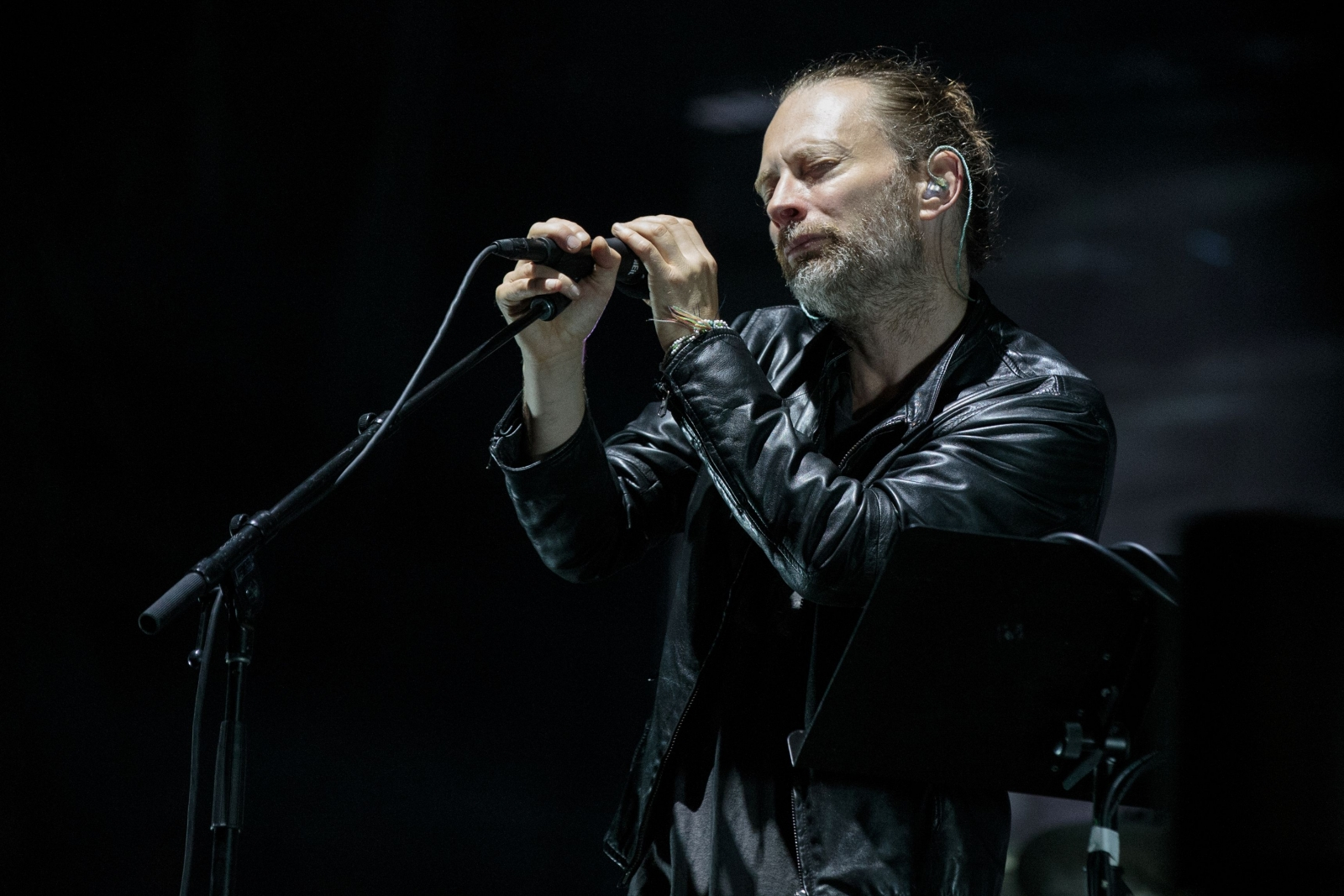 British Rock Icons Radiohead Walk Off Stage In Protest At
