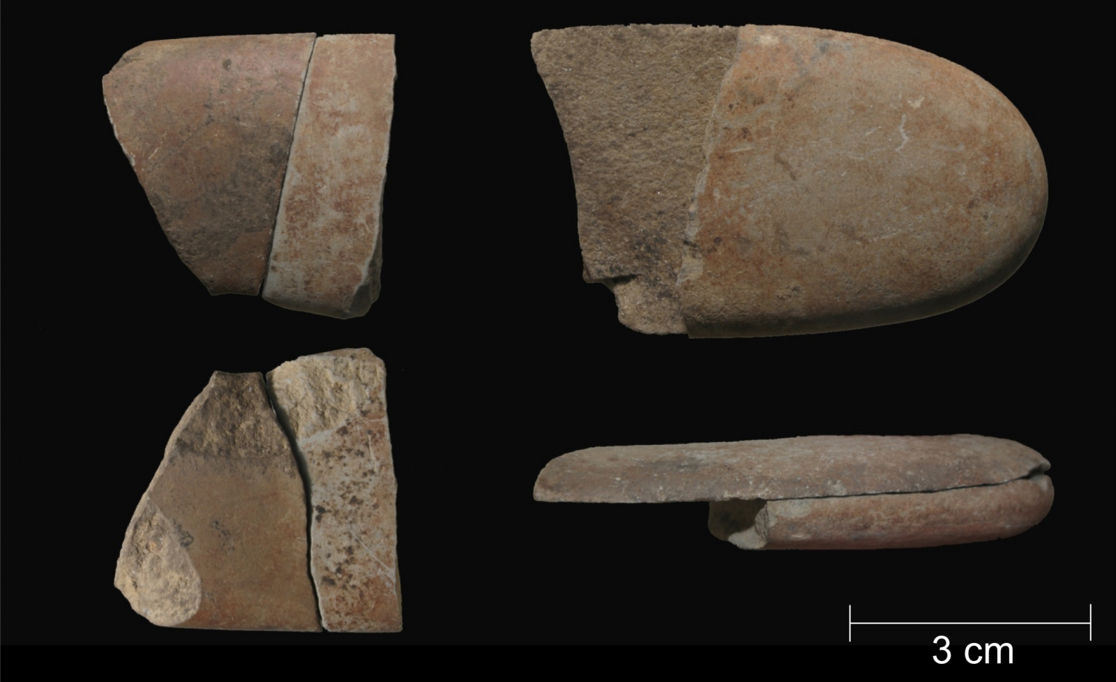 Palaeolithic death ritual pebbles