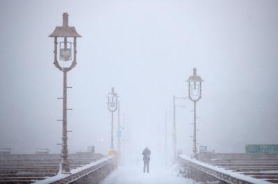 New York snow