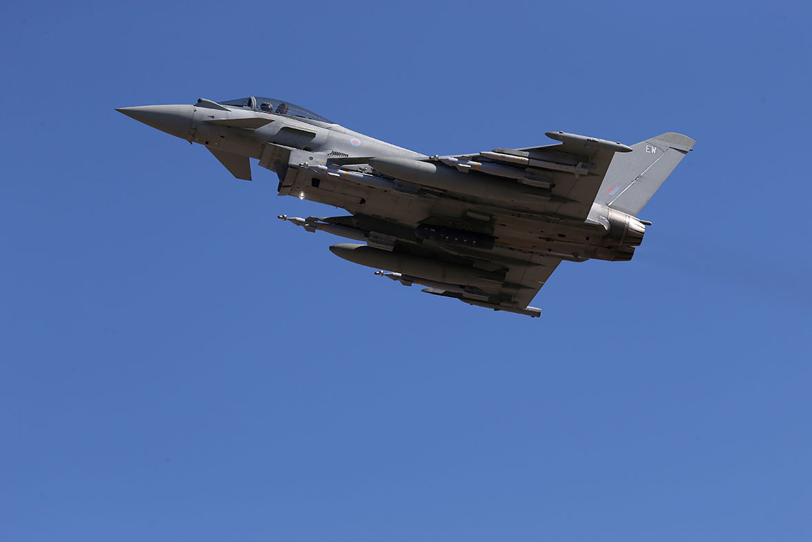 RAF Typhoon GPS penis