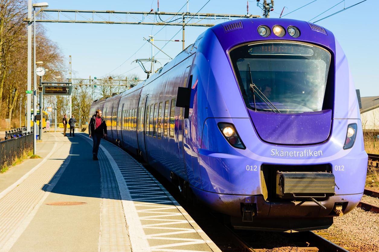 Train, Sweden