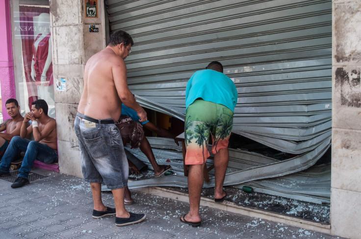 brazil police strike