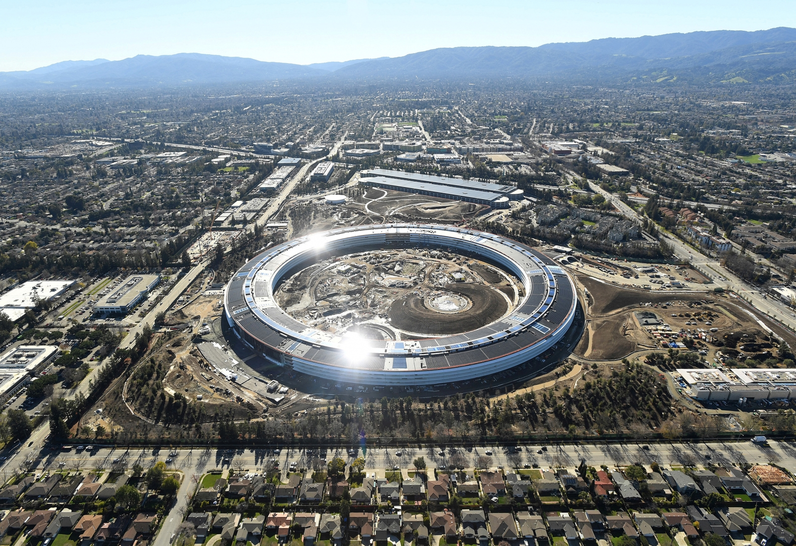 Apple New Building Site