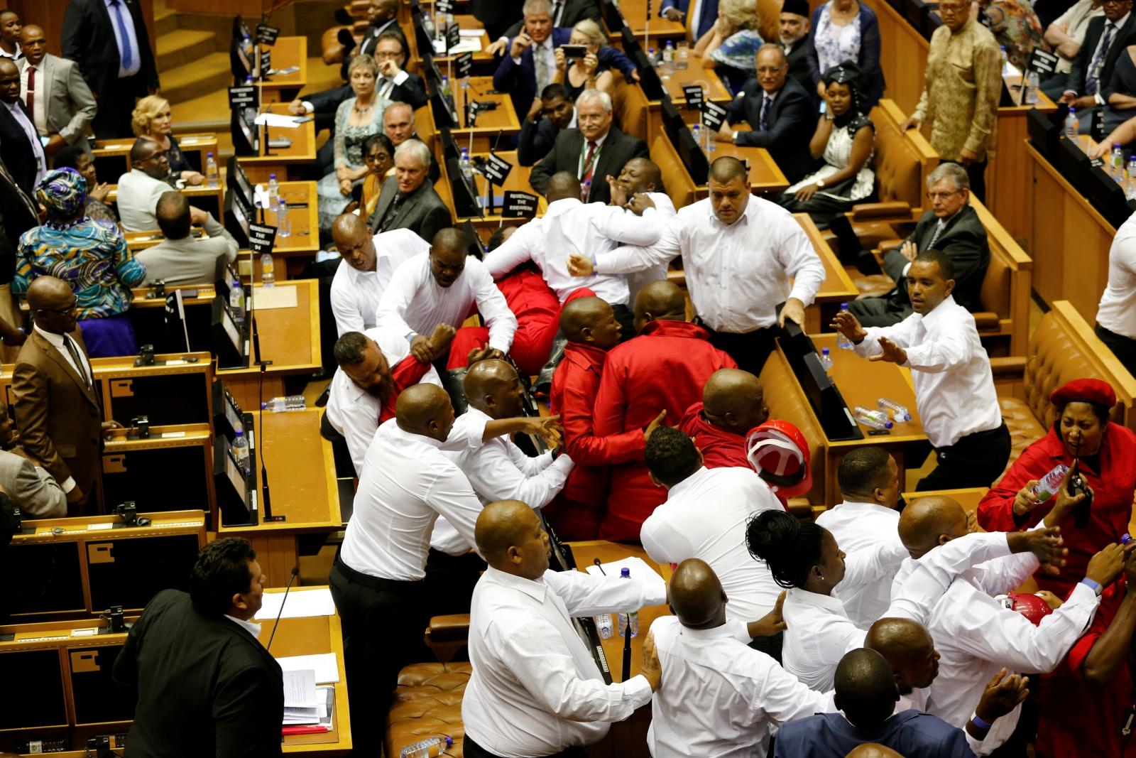 Zuma violence