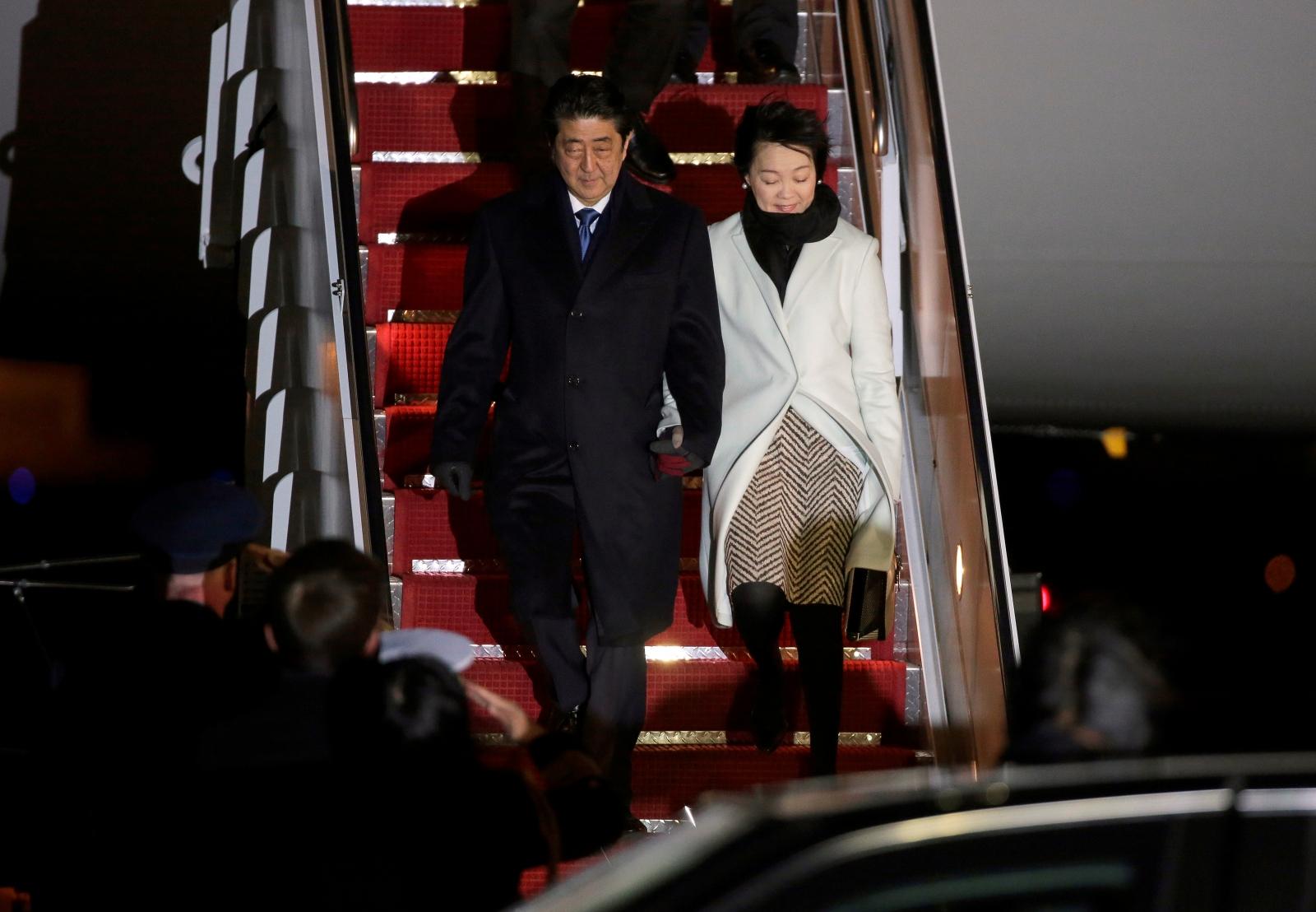 Shinzo Abe in Washington