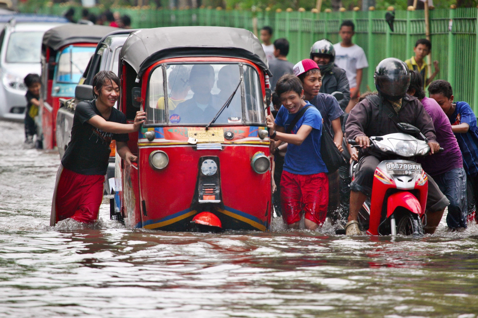 Flooding South-east Asia