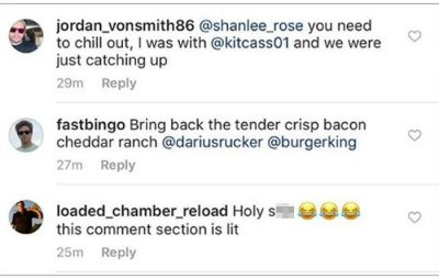 Burger and lies: Cheating boyfriend gets caught out with Burger King
