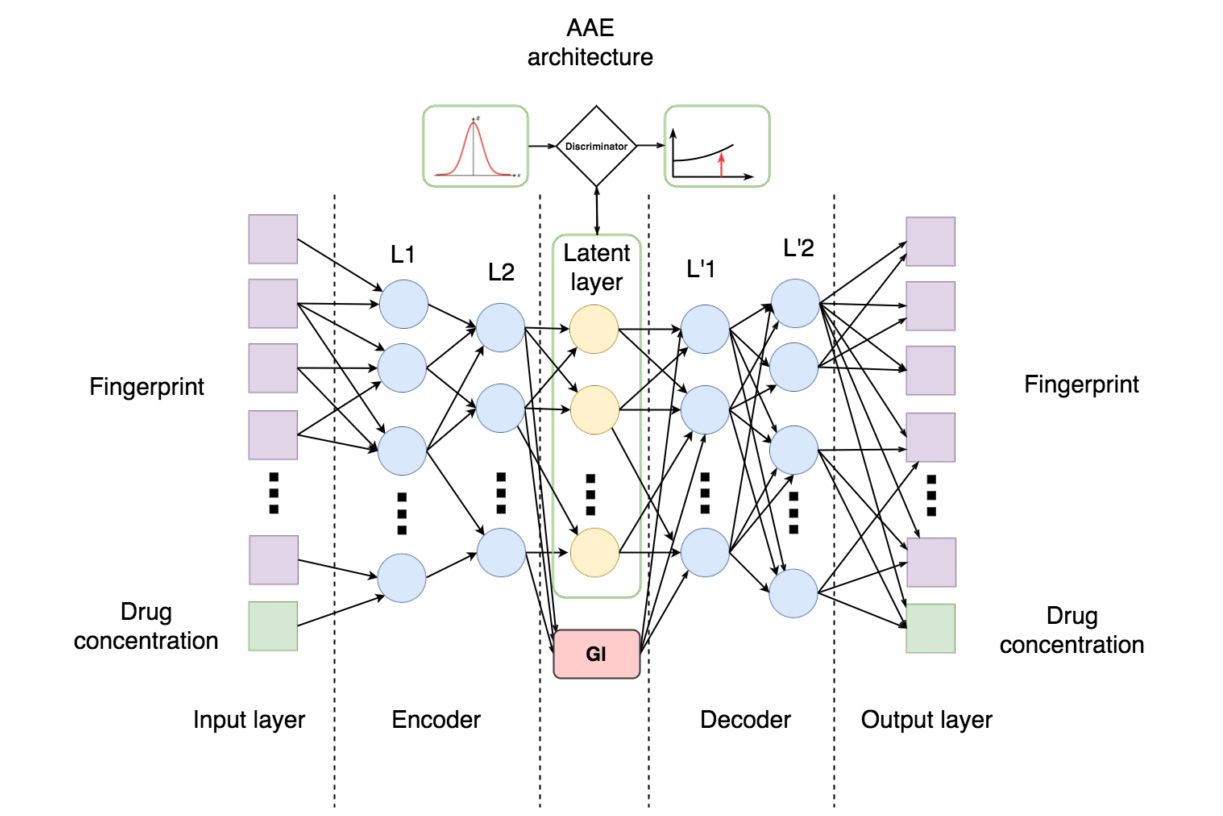 How the neural network processes understands drugs