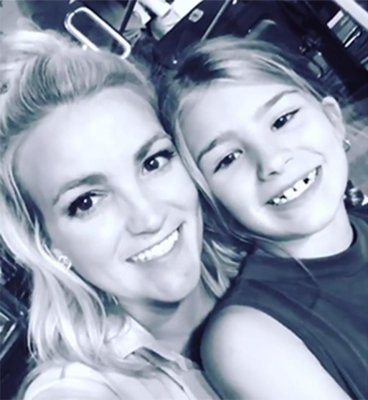 Jamie Lynn Spears and daughter Maddie Aldridge
