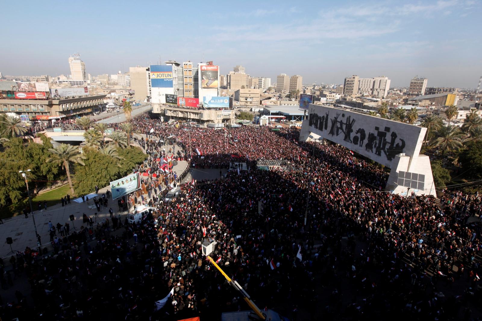 Iraq's Tahrir Square