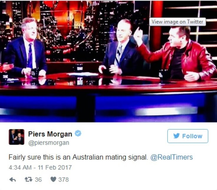 Piers Morgan twitter