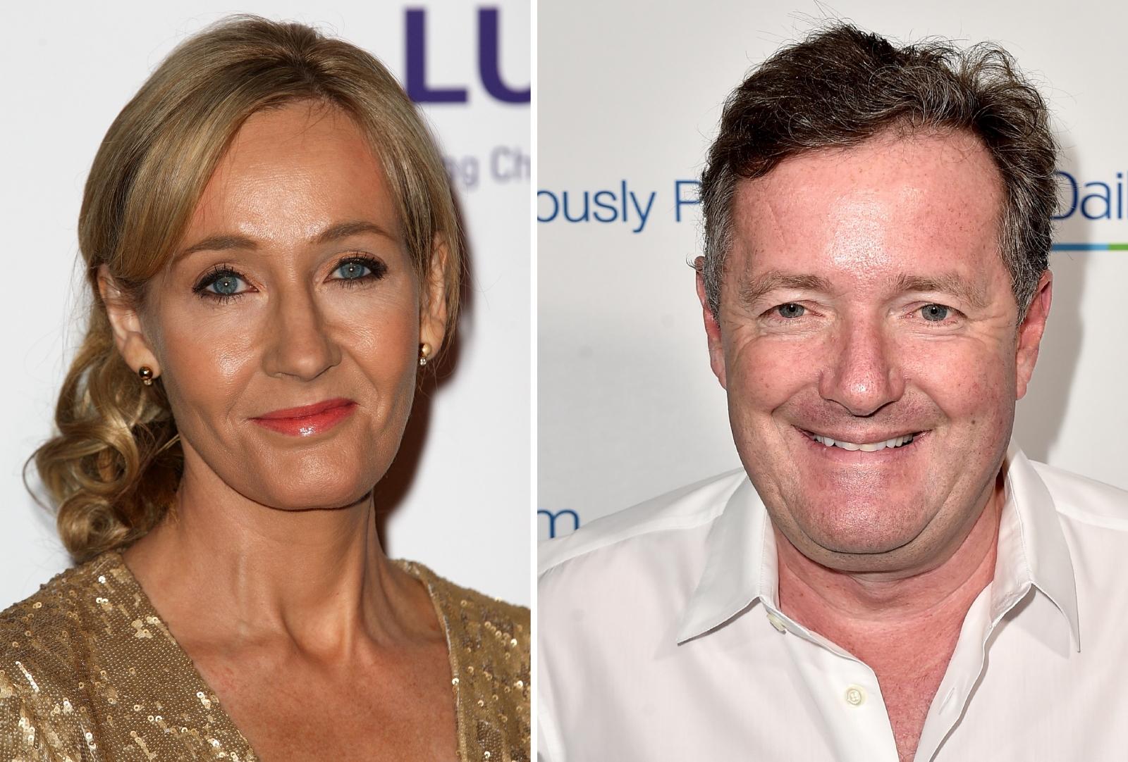 JK Rowling Piers Morgan Twitter feud