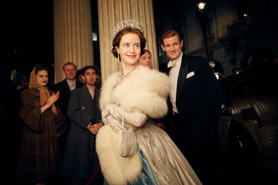 Claire Foy and Matt Smith The Crown