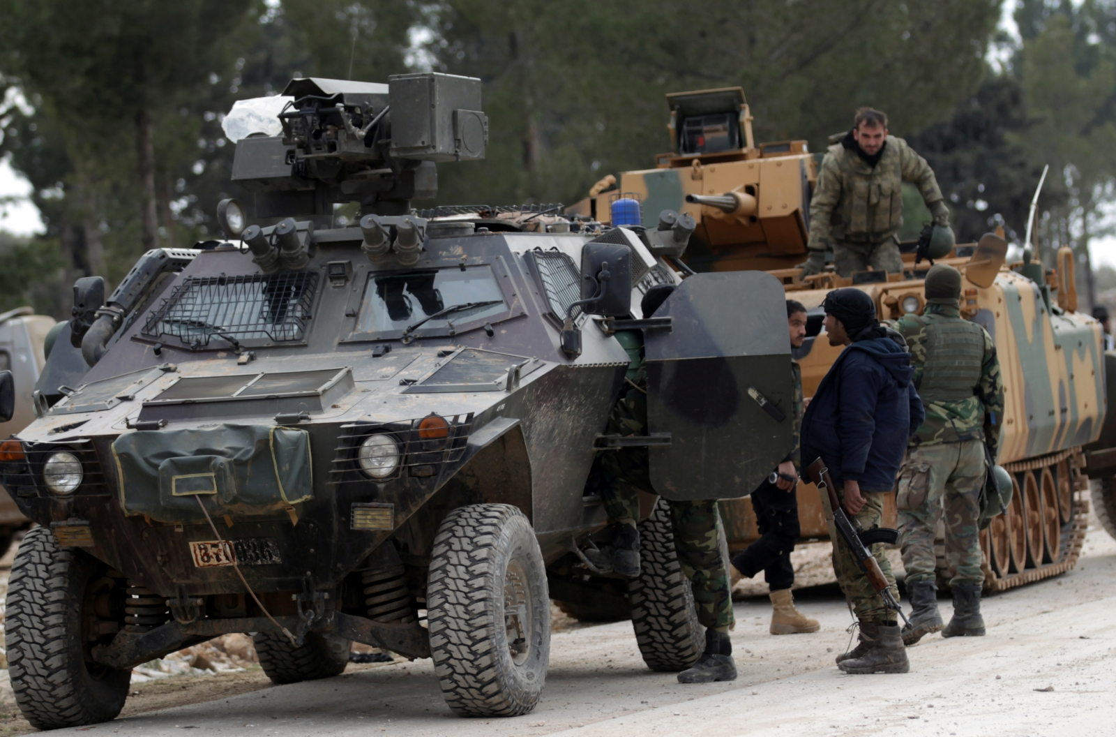 Turkey says Syria's al-Bab