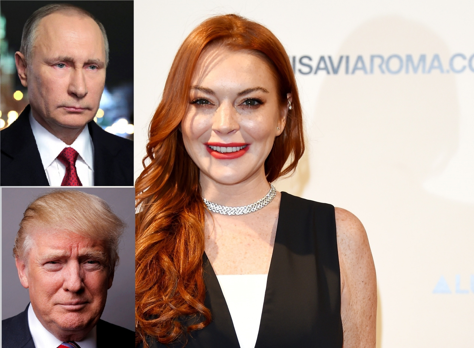 Lindsay Lohan wants to meet with presidents