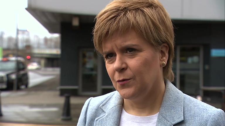 Nicola Sturgeon writes to Theresa May over 'shameful' backtrack on helping child refugees