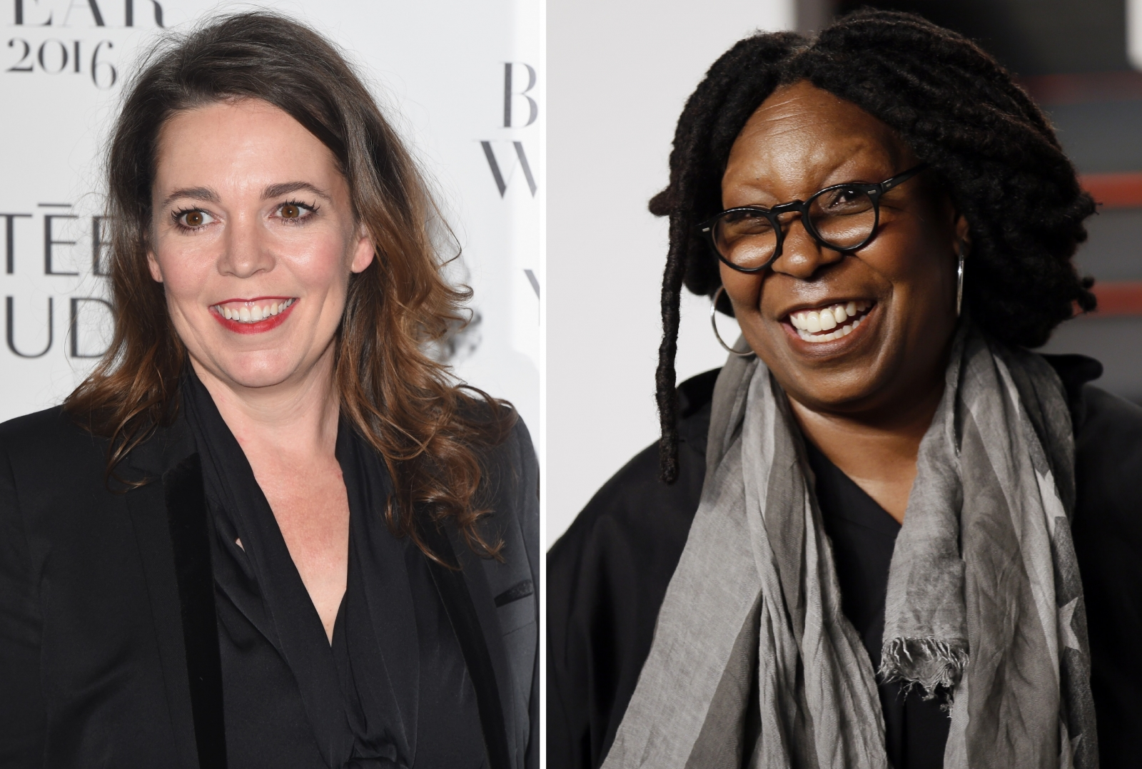 Olivia Coleman and Whoopi Goldberg Doctor Who