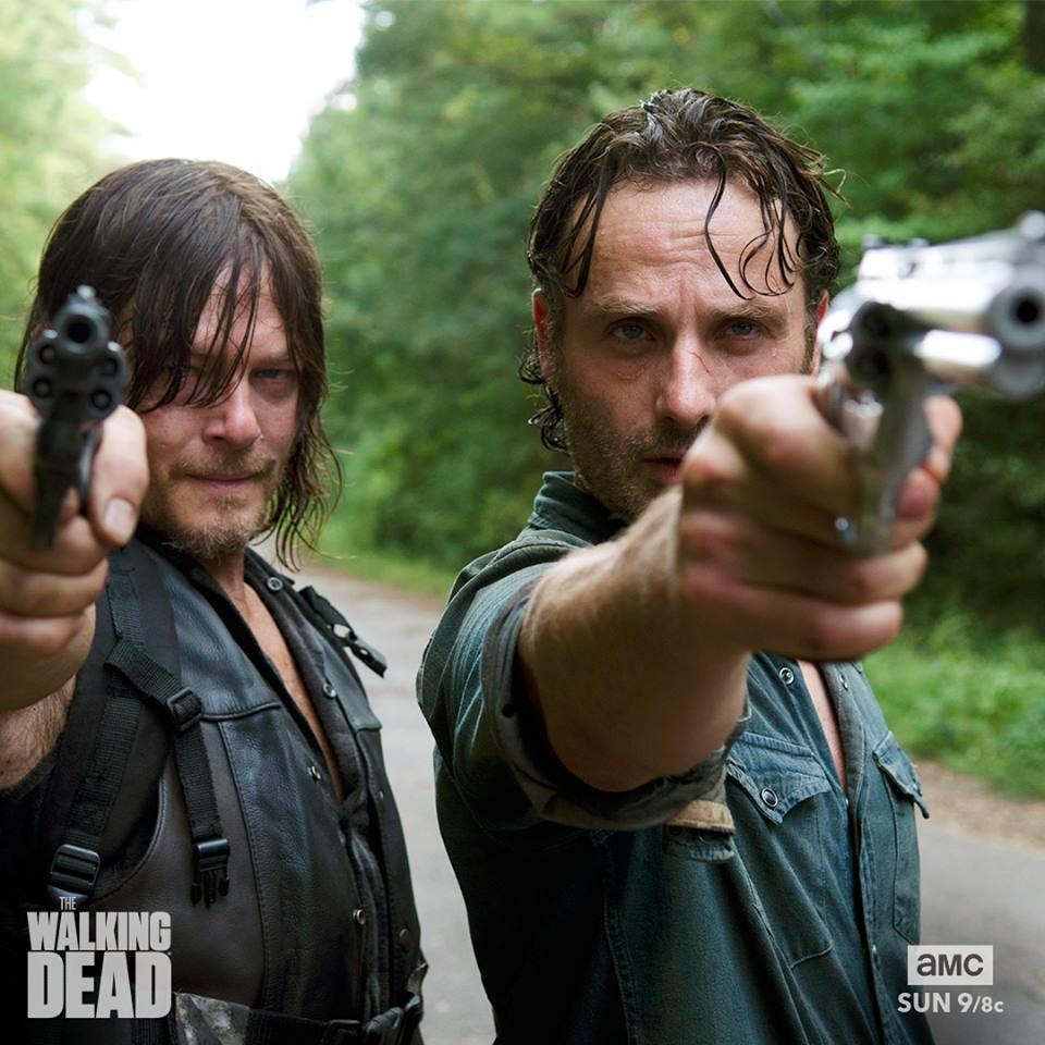 walking dead season 7 episode 9 recap rick smiles again