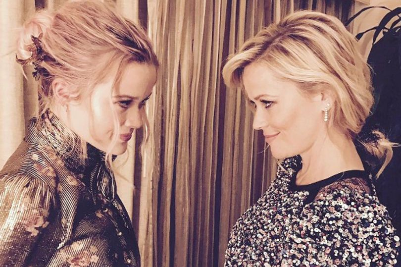 Reece Witherspoon and daughter Eva Phillippe