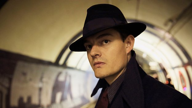 Sam Riley in SS-GB BBC TV
