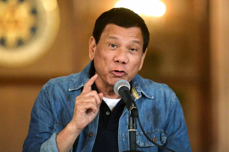Philippines Duterte illegal gambling