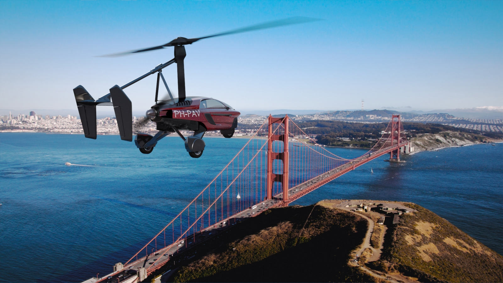 Gmt Auto Sales >> Lift-off! World's first commercial flying car goes on sale ...