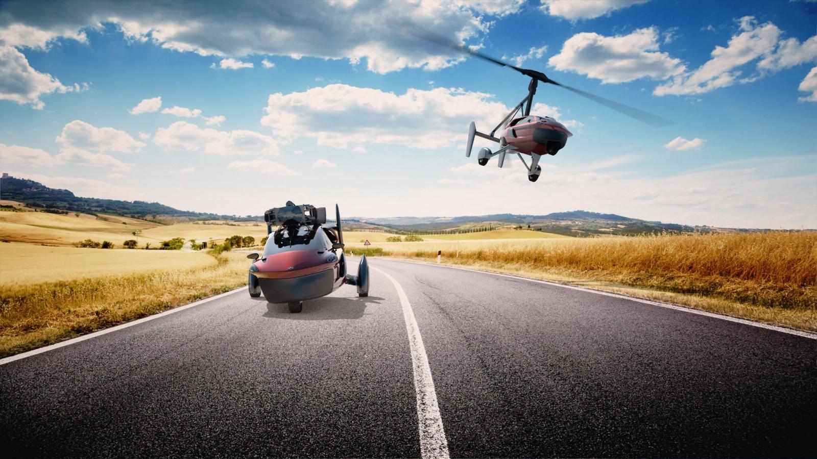 PAL-V road and air