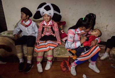 Long Horn Miao ethnic minority China