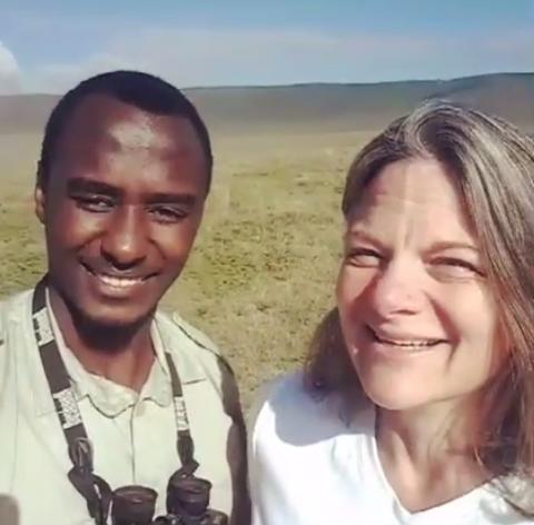 Tanzanian tour guide