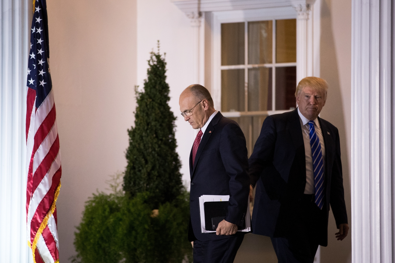Andrew Puzder exit Trump meeting