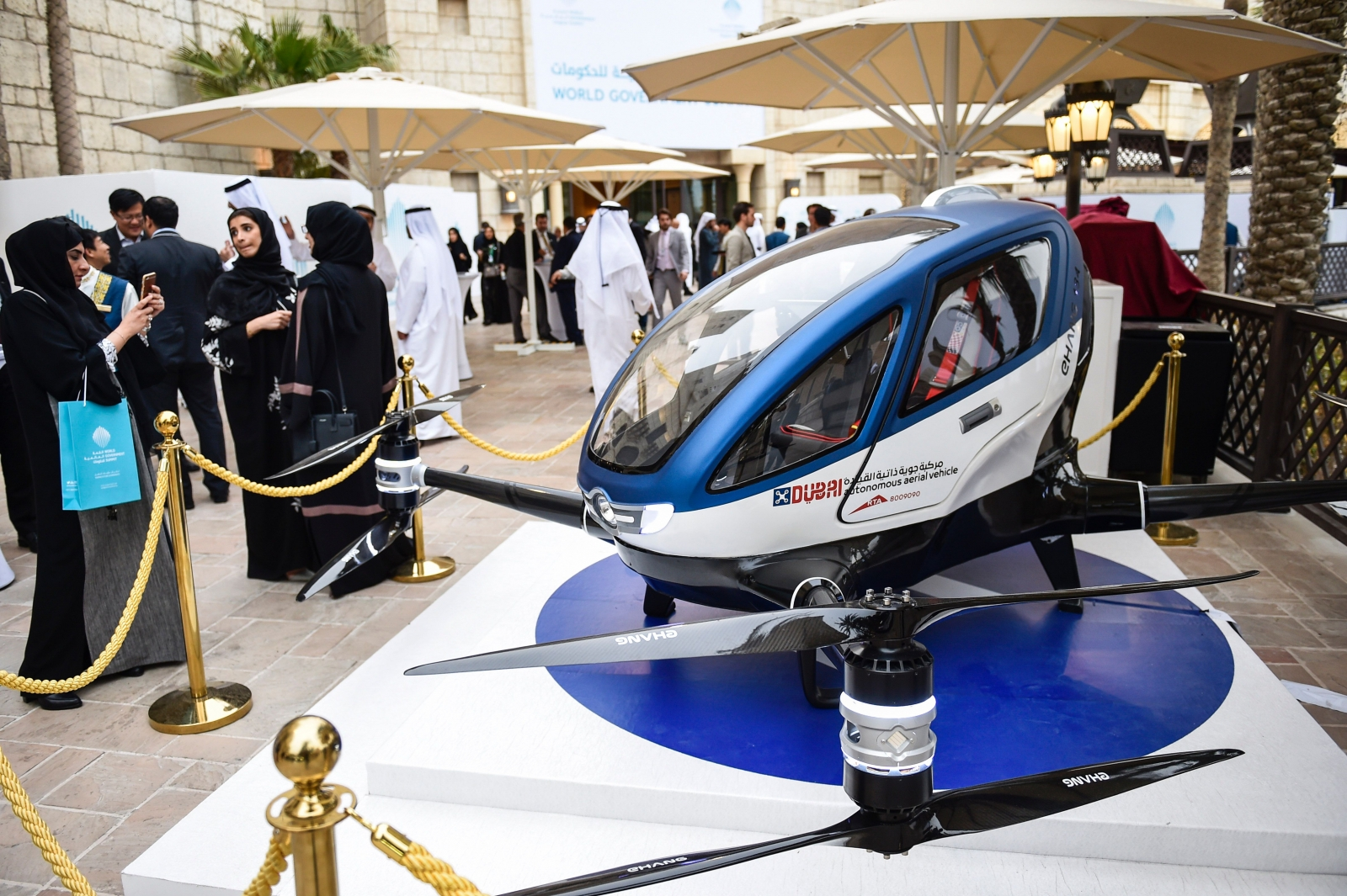 dubai aims to launch passenger carrying drone taxi service this summer. Black Bedroom Furniture Sets. Home Design Ideas
