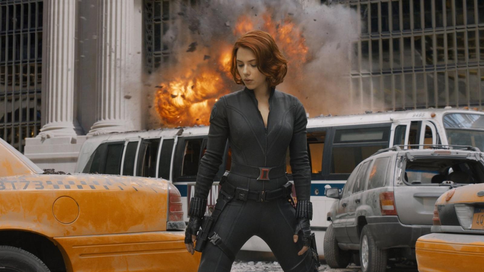 Scarlett Johansson in Avengers Assemble