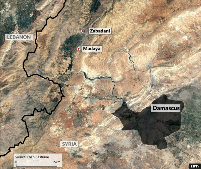 Damascus area
