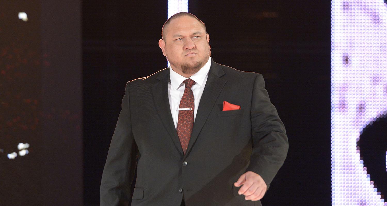 Samoa Joe WWE Raw