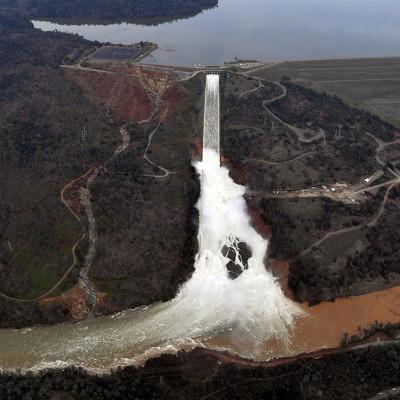 Oroville dam California