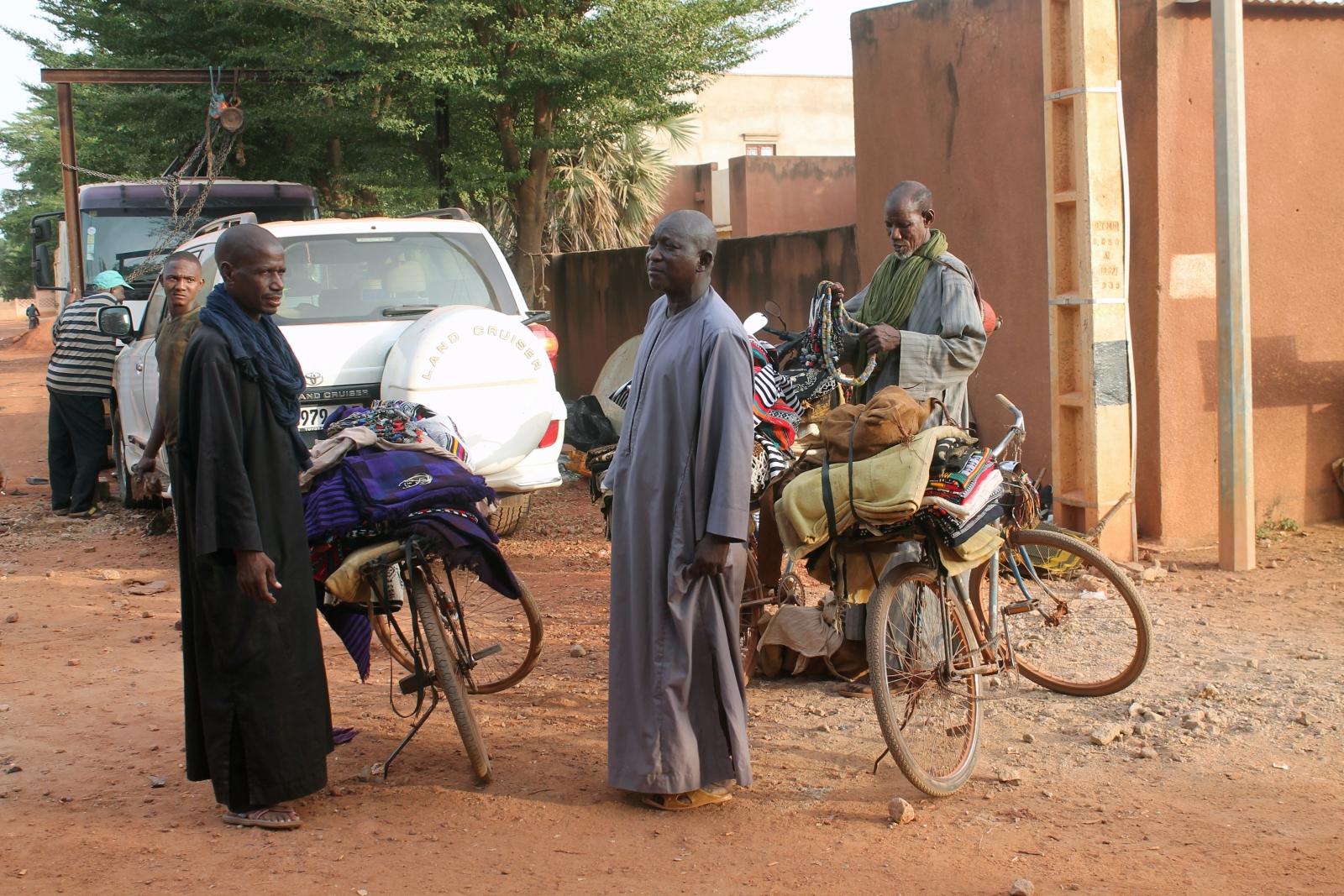Peuhl people in Mali