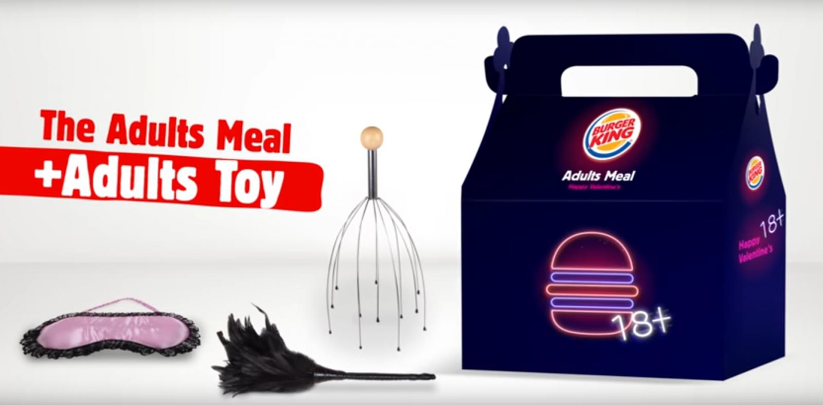 Burger King sex toy